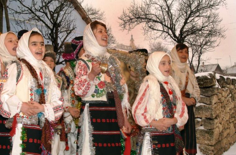 Moldovenii sărbătoresc Crăciunul