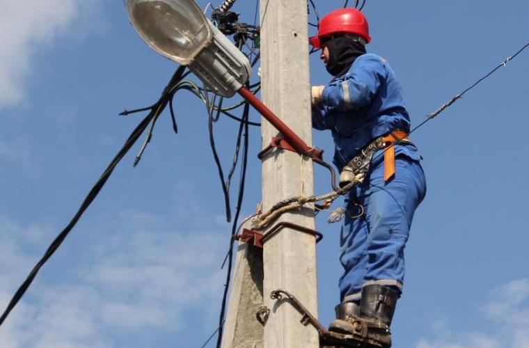 Localităţile din ţară care vor rămîne fără curent electric