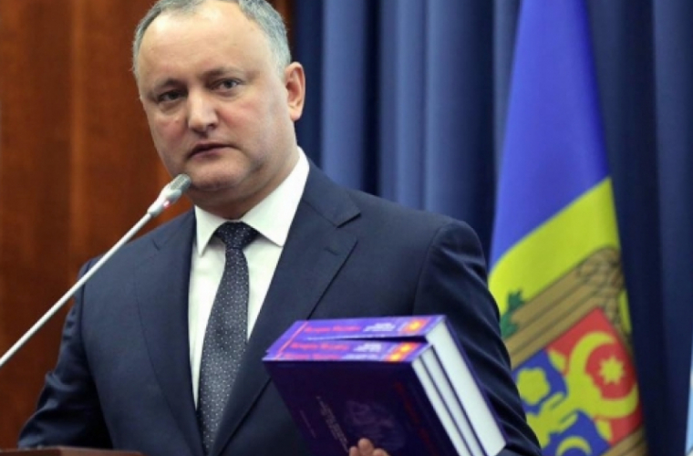 Dodon a primit o întrebare incomodă la MGIMO