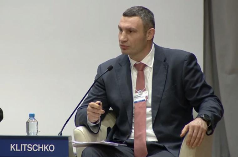 Кличко в Давосе: Украина вдвое больше Франции (ВИДЕО)