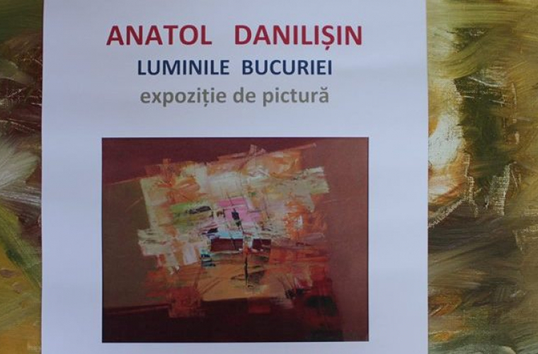 Pictorul Anatol Danilișin și-a vernisat propria expoziție
