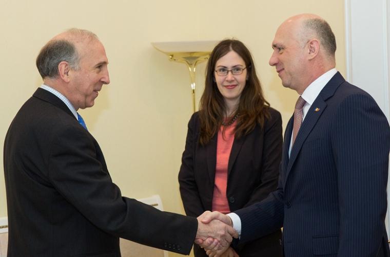 Filip: SUA sînt un partener strategic al Moldovei
