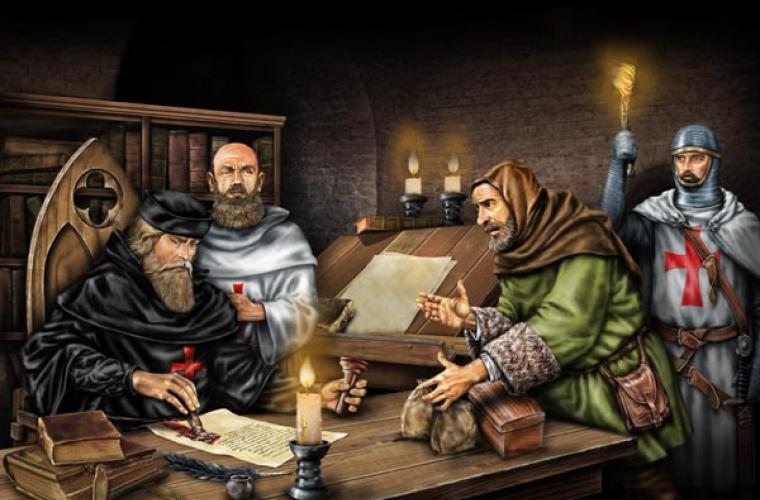 Конспирологическая история Европы: куда ведут следы тамплиеров?