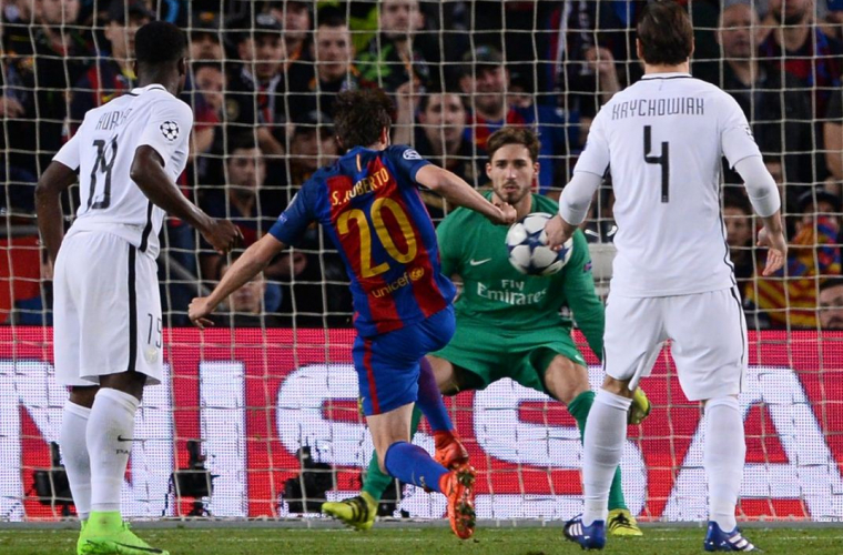 """Barcelona"" a ""rescris"" istoria Ligii Campionilor (VIDEO)"