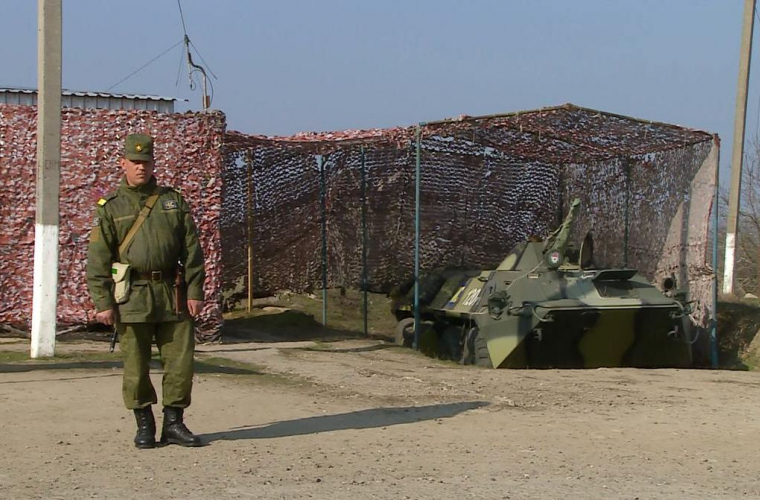 Pacificatorii din Transnistria au fost inspectați