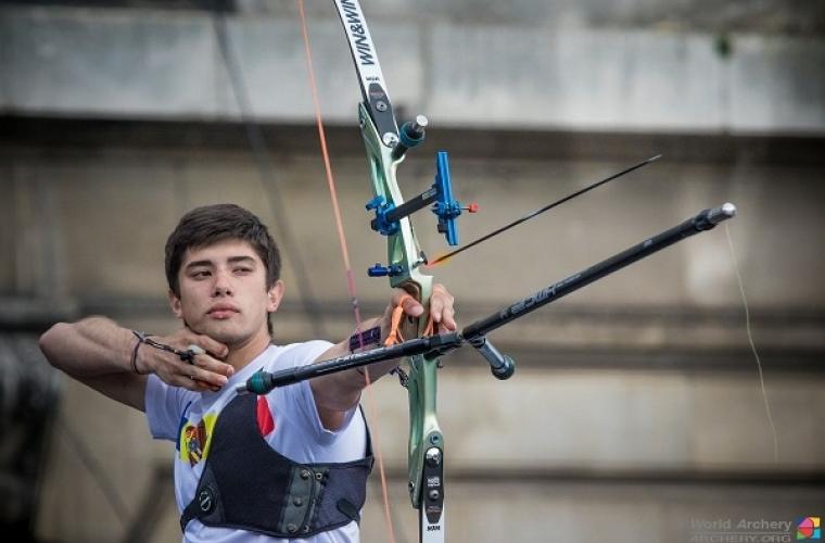 Dan Olaru, medaliat cu argint la Campionatul European de tir cu arcul
