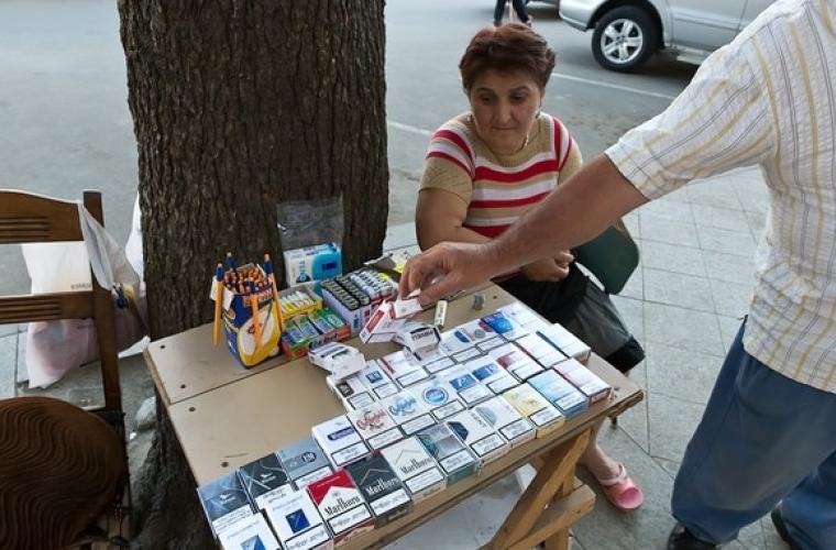 Pensionarii din Transnistria nu au voie să comercializeze ţigări