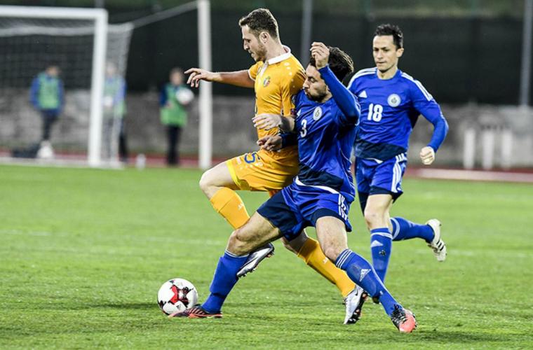 Сборная Молдовы одержала победу над Сан-Марино (ВИДЕО)