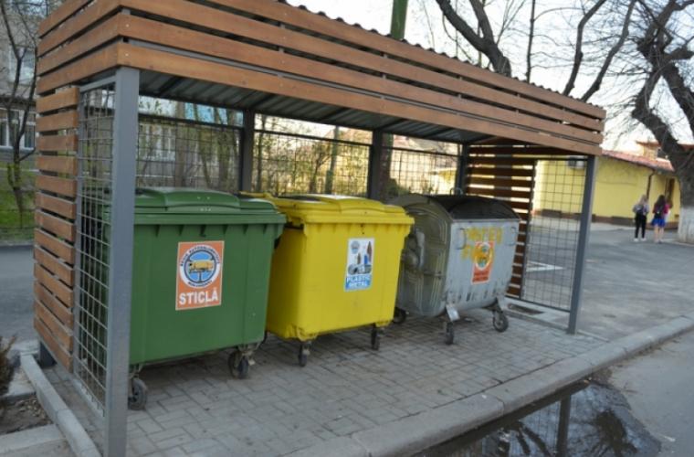 Platformele tomberoanelor pentru gunoi continuă să fie modernizate