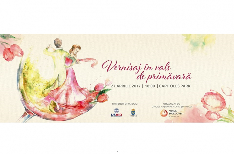 Vernisajul Vinului invită la un vals de primăvară în nuanțe de rosé
