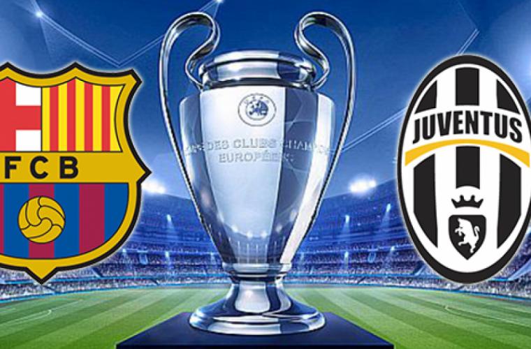 Urmărește meciul dintre FC Barcelona și Juventus Torino pe TV NOI