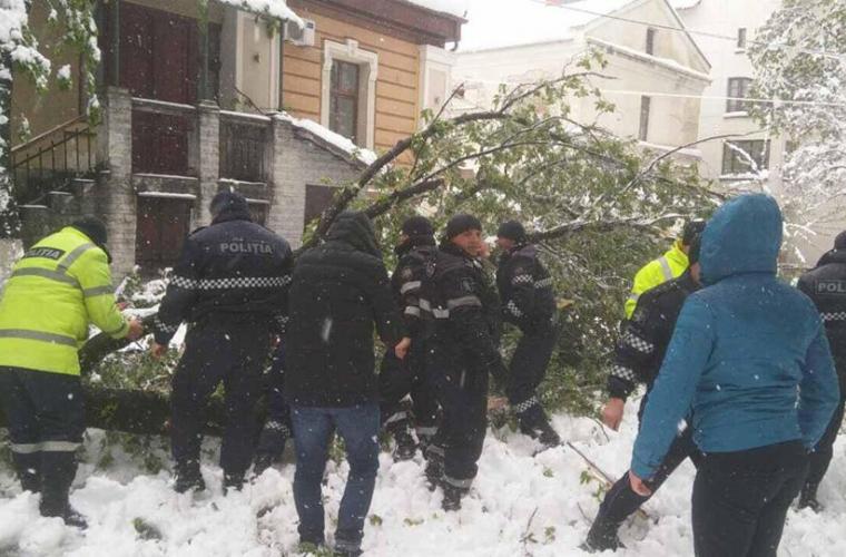 Moldova amenințată de un alt pericol, în urma ninsorilor