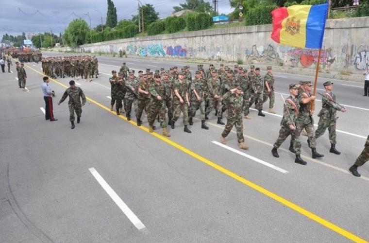 Veteranii conflictului de pe Nistru au protestat la Guvern