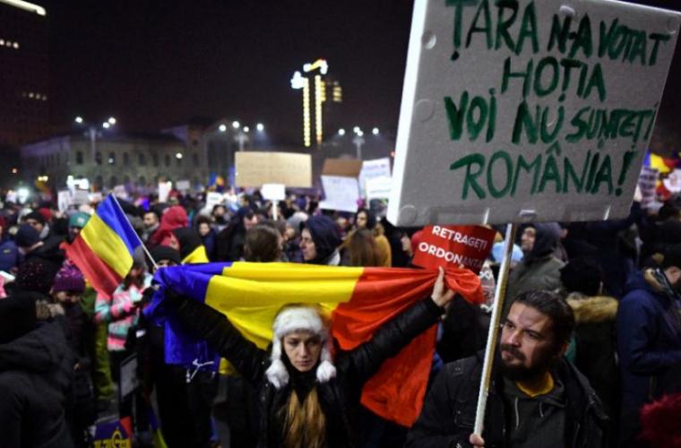 În România au fost reluate protestele