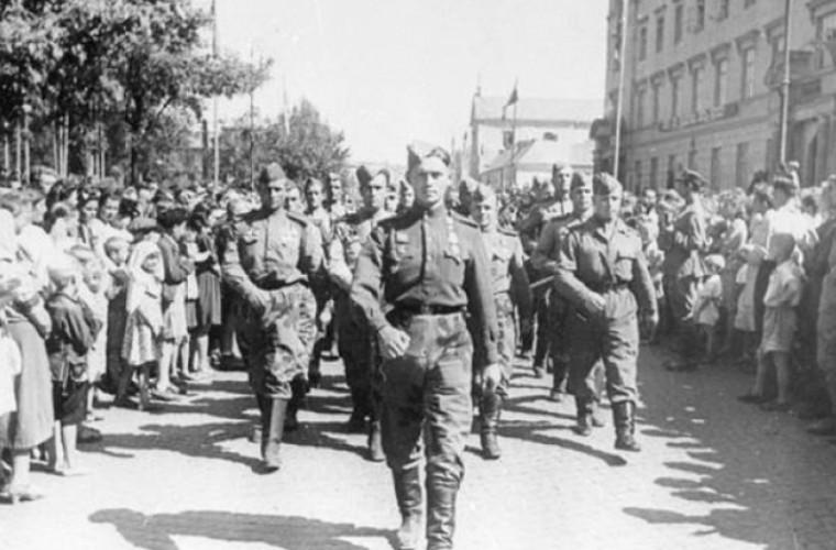 Chișinău, anul 1944, după eliberarea orașului (VIDEO)