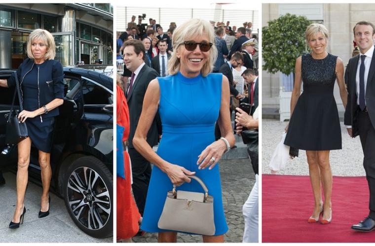 Cum se îmbracă Prima Doamnă a Franței