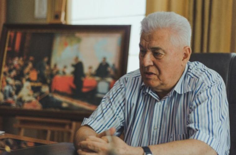 Voronin explică de ce PCRM nu participă la proteste