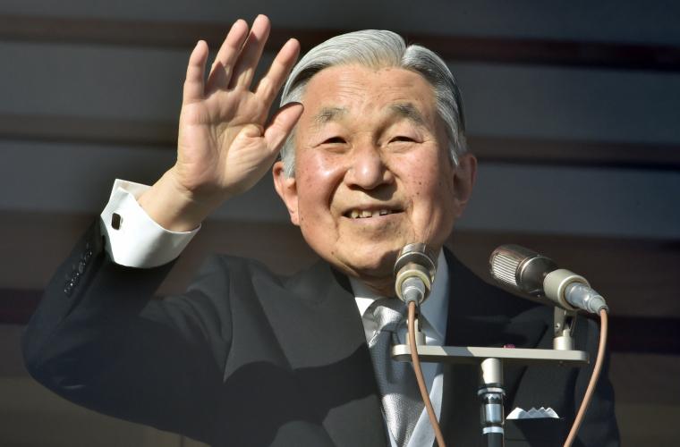 Împăratul Akihito al Japoniei, primul monarh care renunță la tron