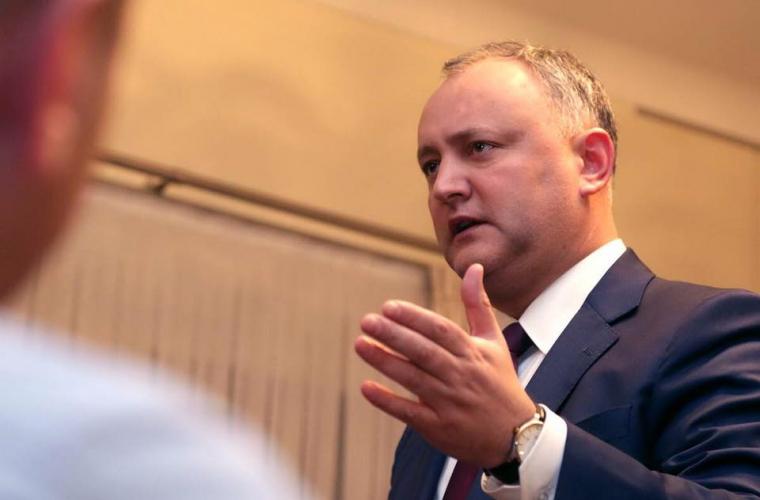 Igor Dodon a fost invitat la așa-zisa Procuratură din regiunea transnistreană pentru audieri