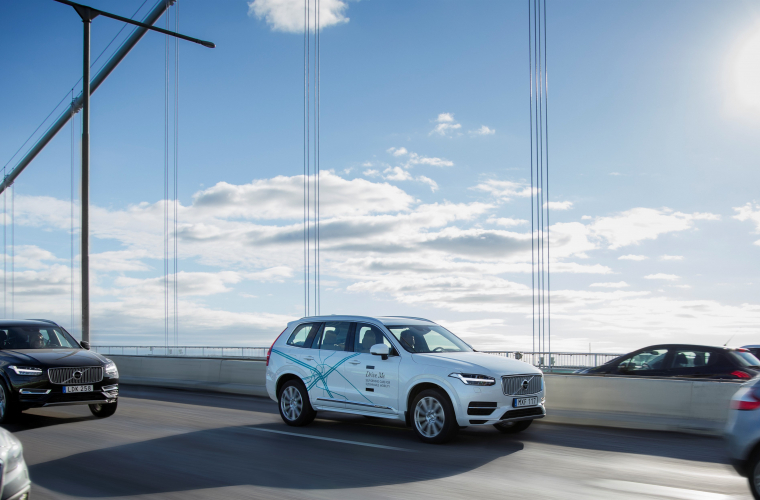 Volvo Cars și Autoliv se unesc cu NVIDIA