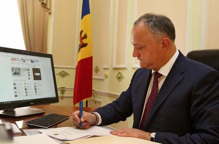 Dodon a promis să clarifice chestiunea privind bazele SUA în Moldova