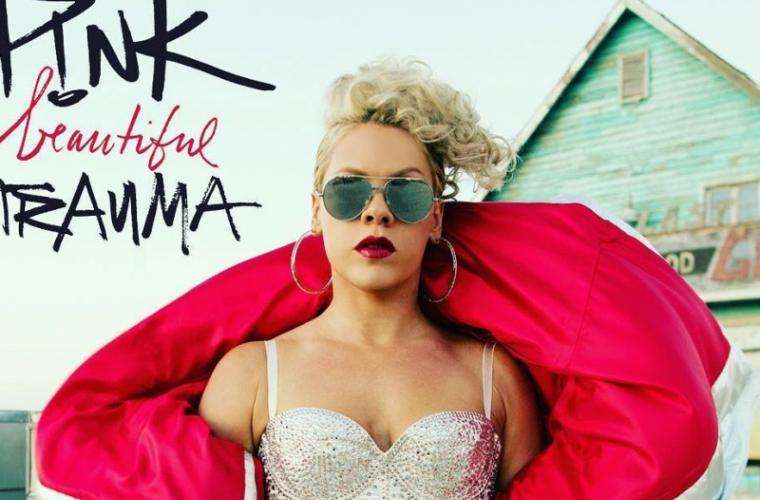 """Pink lansează un nou album de studio, """"Beautiful Trauma"""", în luna octombrie"""