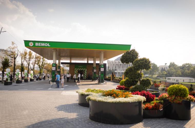 Deschiderea unei noi benzinării BEMOL