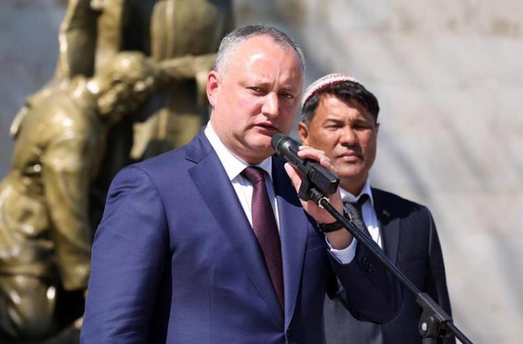 Dodon afirmă că Grigori Leps vine la Chișinău să cînte pe gratis