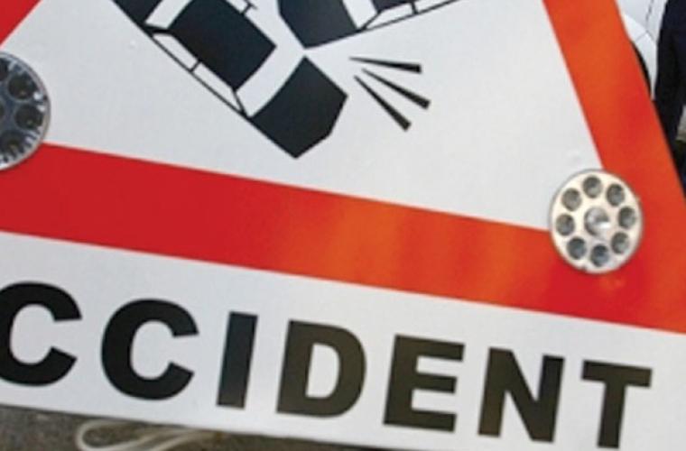 Circulație îngreunată în capitală, din cauza unui accident rutier