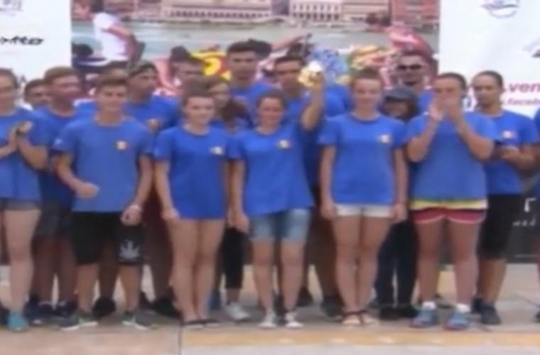 Sportivii moldoveni au facut senzatie in Italia (VIDEO)