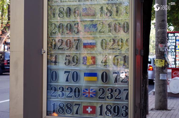Cursul valutar stabilit de BNM pentru 11 august