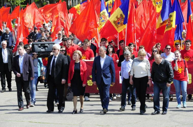 Mitinguri și marșuri organizate de PSRM, sînt planificate în toată țara