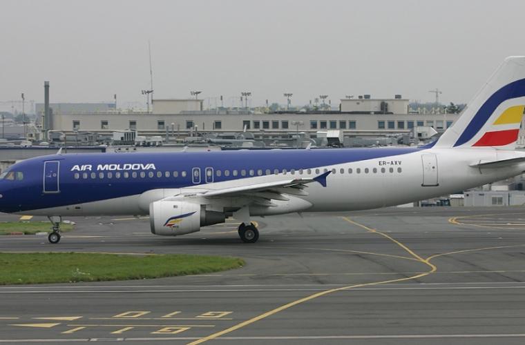 Bucluc pe Aeroportul din Paris. Unei aeronave AIRMoldova cu pasageri i s-a interzis să decoleze