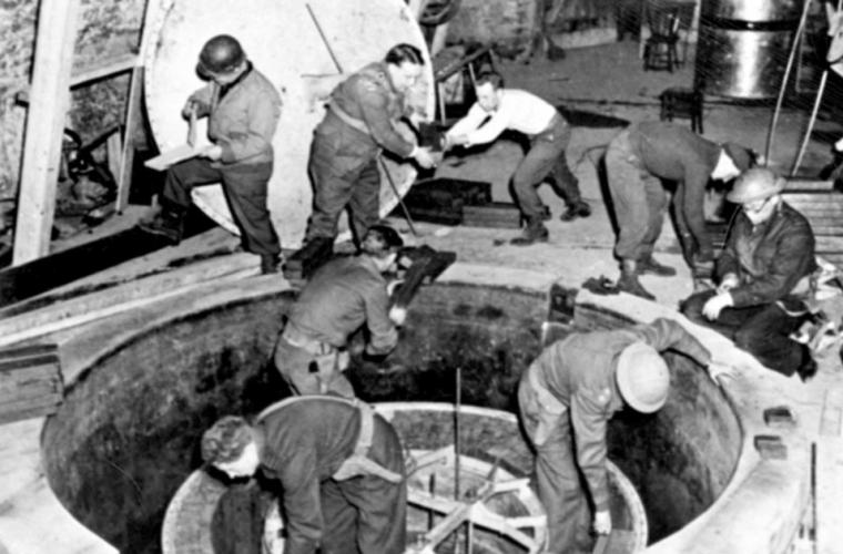 În Germania a fost găsit Centrul Nuclear secret al lui Hitler