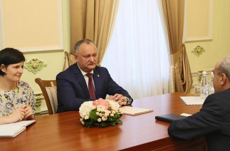 Dodon va întreprinde o vizită oficială în Armenia