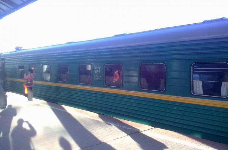 Un însoţitor de vagon din Moldova a suferit din cauza simbolurilor Rusiei
