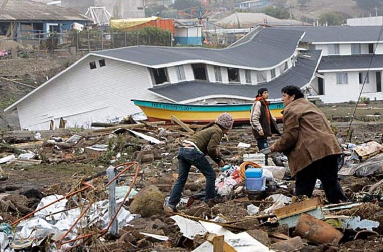 Un seism puternic a zguduit statul Chile