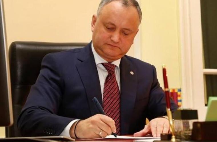 Decret prezidențial: aniversarea celor 100 de ani de la proclamarea Republicii Democratice Moldovenești