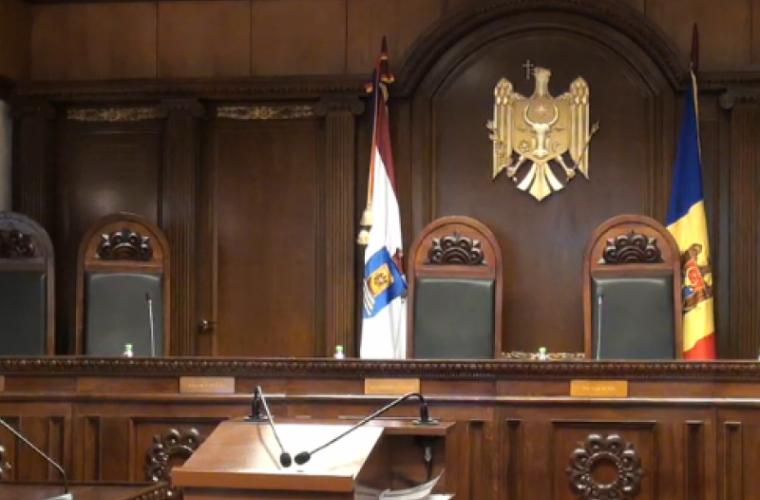 Curtea Constituțională respinge demersul privind recuzarea judecătorilor