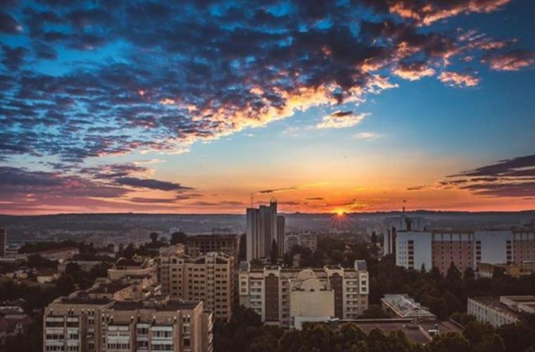 Cum este văzut Chișinăul de la înălțime ? (FOTO)