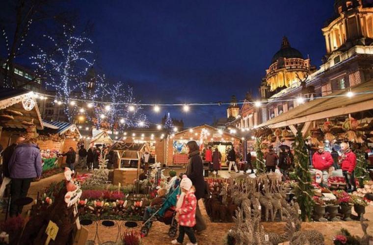 La Londra a fost inaugurat un tîrg de Crăciun