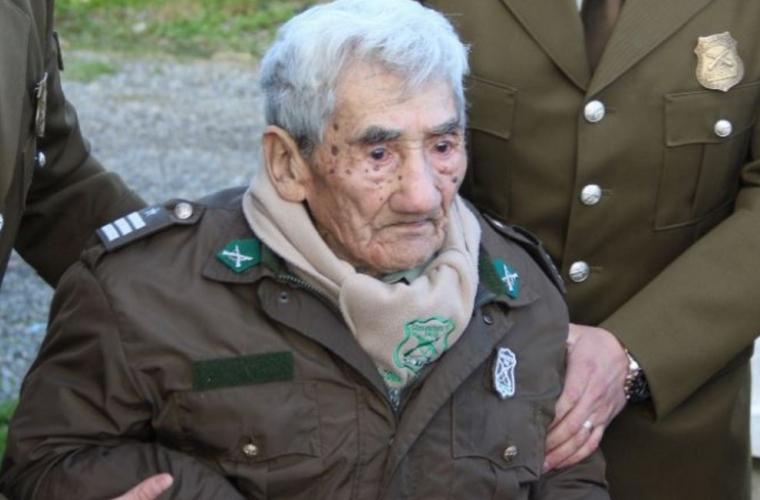 Un chilian este cel mai bătrîn om din lume (FOTO)