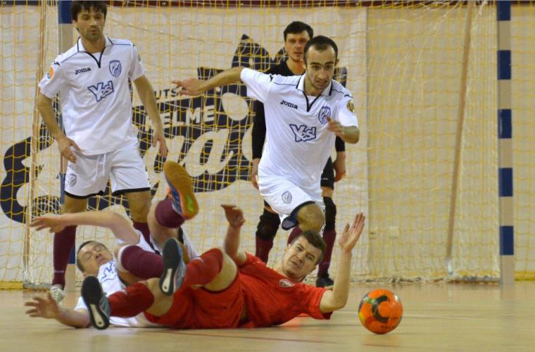 În Сampionatul național de fotbal în sală a avut loc prima etapa