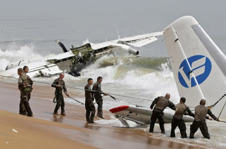 Cutiile negre ale avionului prăbușit în Coasta de Fildeș, descifrate de experți ucraineni