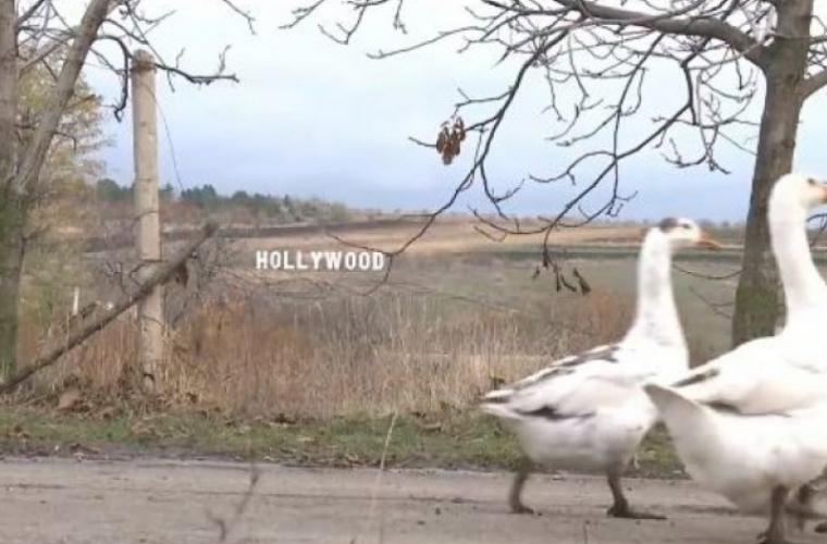 Locuitorii din satul Coșcalia s-au trezit peste noapte în Hollywood (VIDEO)