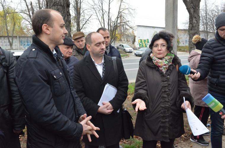 Plecată în inspecție, Silviei Radu i-a fost interzis accesul pe un șantier