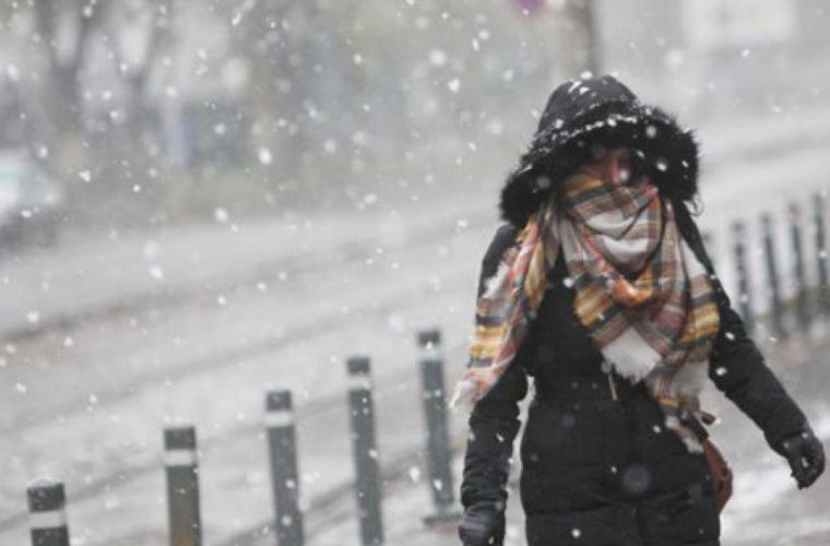Un ciclon polar va lovi Moldova