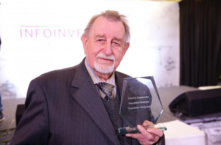 A fost ales cel mai bun inventator din Republica Moldova
