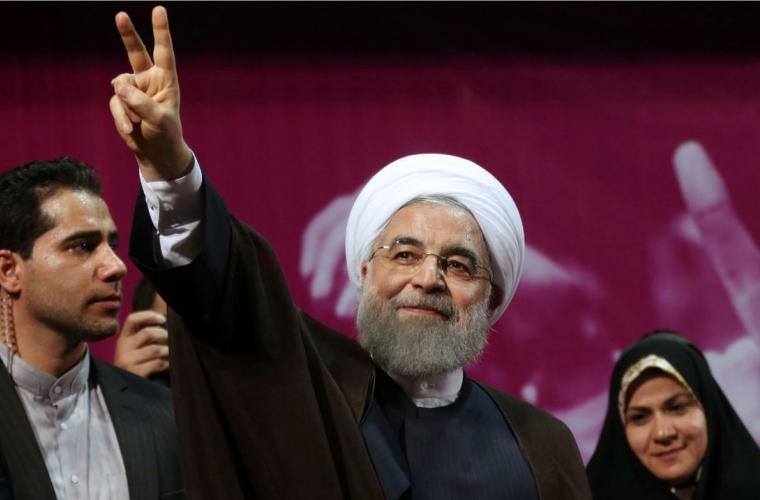 """Președintele Iranului a anunțat prăbușirea """"Statului Islamic"""""""