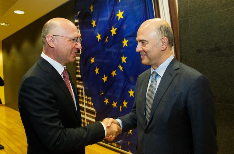UE, mulțumită de eforturile autorităților moldovene de a stabiliza economia